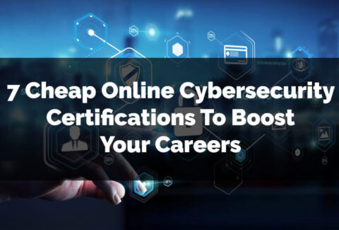 Cheap Online Cybersecurity Certifications